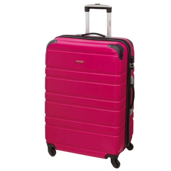 CHECK.IN Paradise Bern Trolley 75 cm 4 Rollen pink Frontansicht