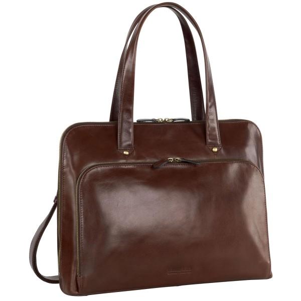 Leonhard Heyden Cambridge Damen-Businesstasche 41 cm schwarz