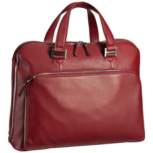 Leonhard Heyden Montpellier Businesstasche 41 cm mit 2 Fächern rot