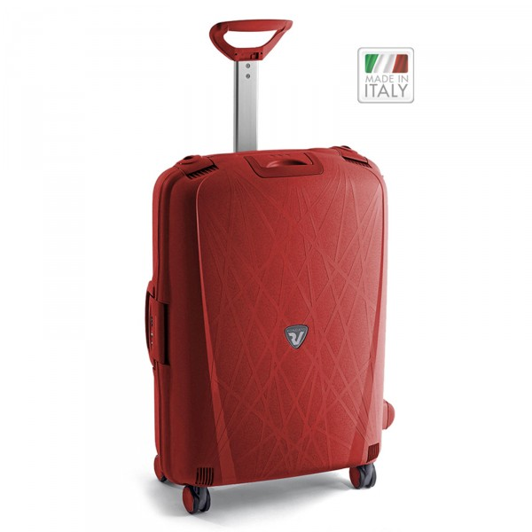 Roncato Light Trolley 68 cm 4 Rollen rosso - Frontansicht
