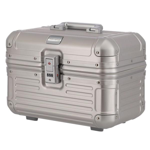 travelite Next Beautycase 38 cm silber