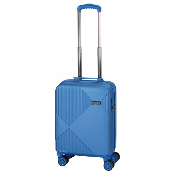 CHECK.IN Liverpool Kabinentrolley 55 cm 4 Rollen blau