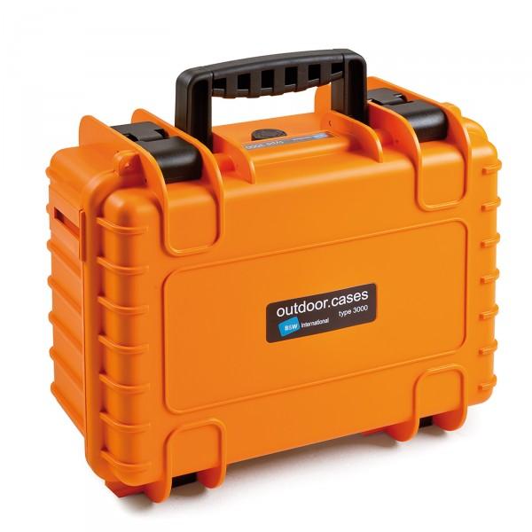B&W Outdoor Case Typ 3000 orange