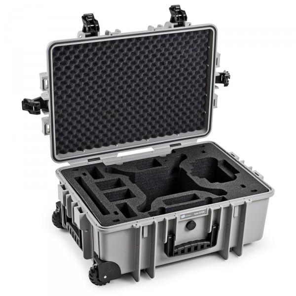 B&W Outdoor Koffer Typ 6700 Grau für DJI Phantom 4, Phantom 4 Pro, Phantom 4 Pro Plus und Phantom 4 Advanced