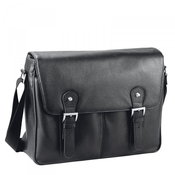 d&n Business Line Messenger Bag 40 cm schwarz