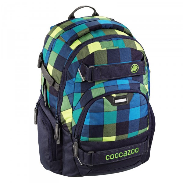Coocazoo CarryLarry 2 Rucksack 44 cm Lime District - Frontansicht