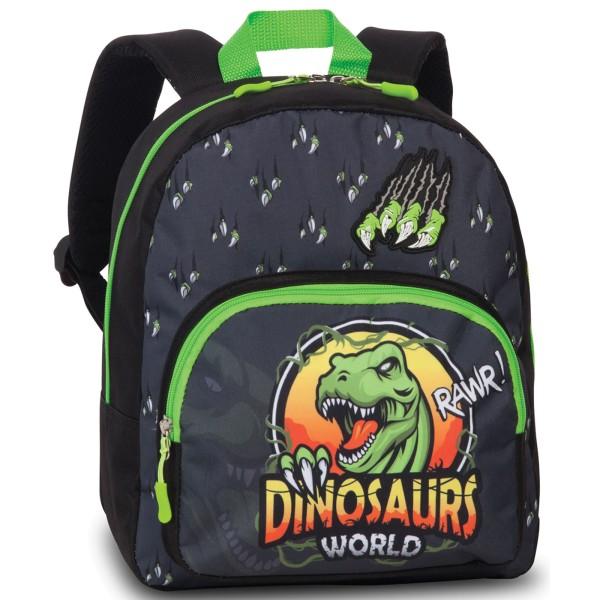 Fabrizio Kids Dinosaurier Rucksack 32 cm anthrazit