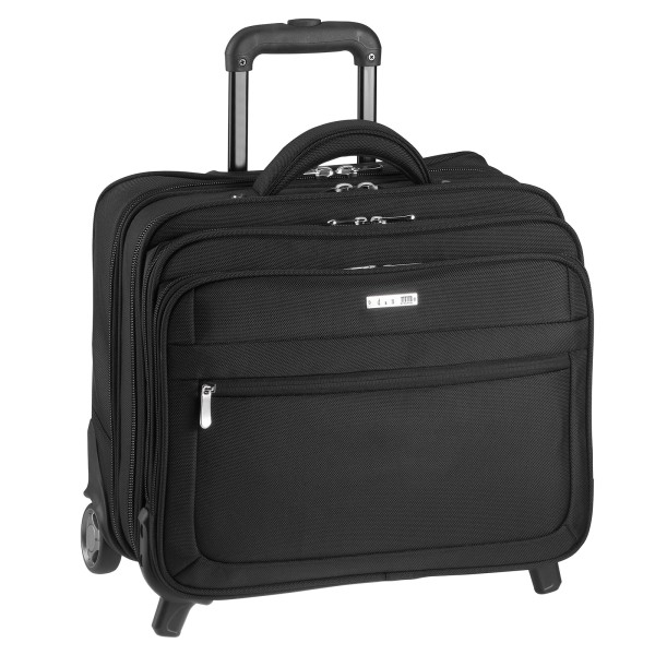 d&n Business & Travel Business-Trolley 36 cm 2 Rollen schwarz