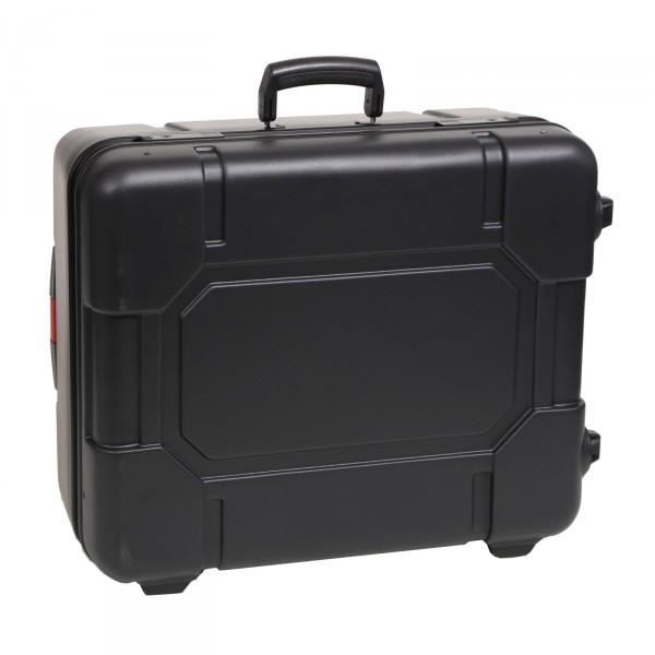 bwh Koffer Kunststoffkoffer Typ RS3 schwarz 2 Rollen schwarz