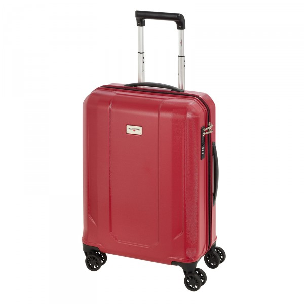 Hardware Airtech Kabinentrolley 55 cm 4 Rollen lady red - Frontansicht