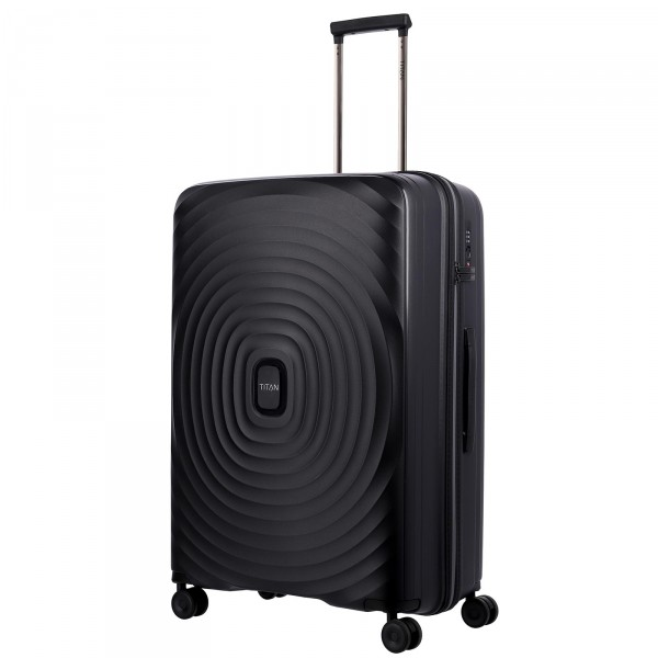 TITAN Looping Trolley 77 cm 4 Rollen Black