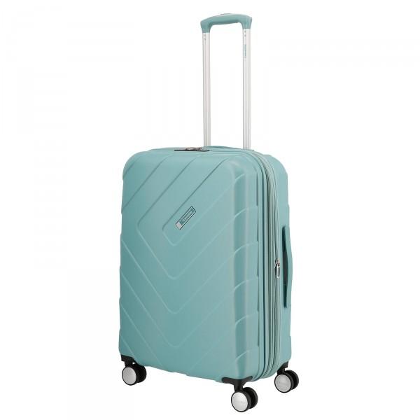 travelite Kalisto Trolley 67 cm 4 Rollen erweiterbar aqua