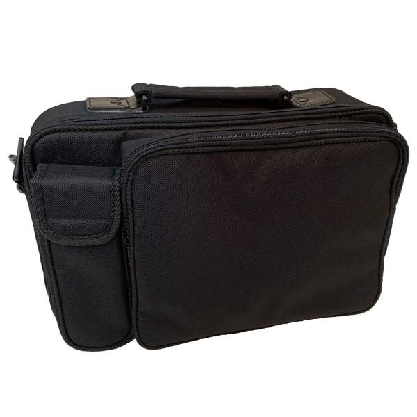 Koffermarkt Beamertasche Beamerbag 36cm schwarz inkl. Schultergurt schwarz