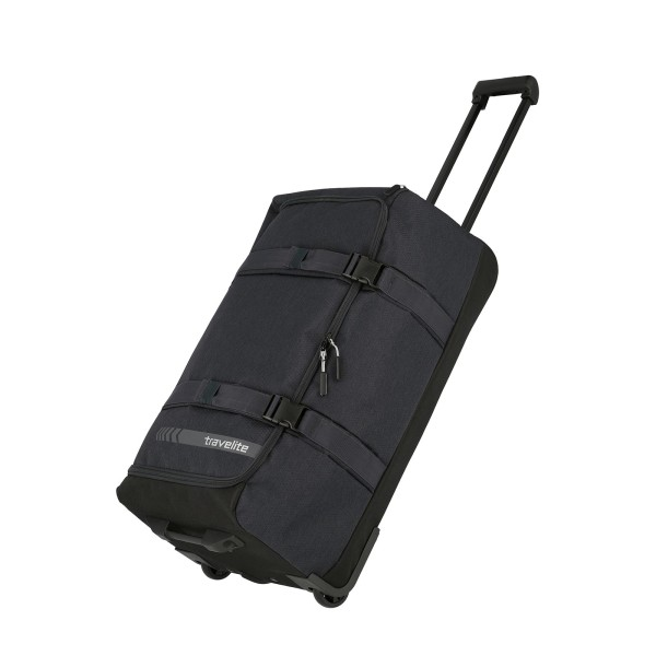 travelite Kick Off Trolley Reisetasche 68 cm 2 Rollen anthrazit