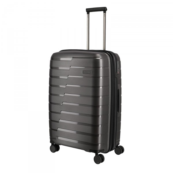 travelite Air Base Trolley 67 cm 4 Rollen erweiterbar anthrazit