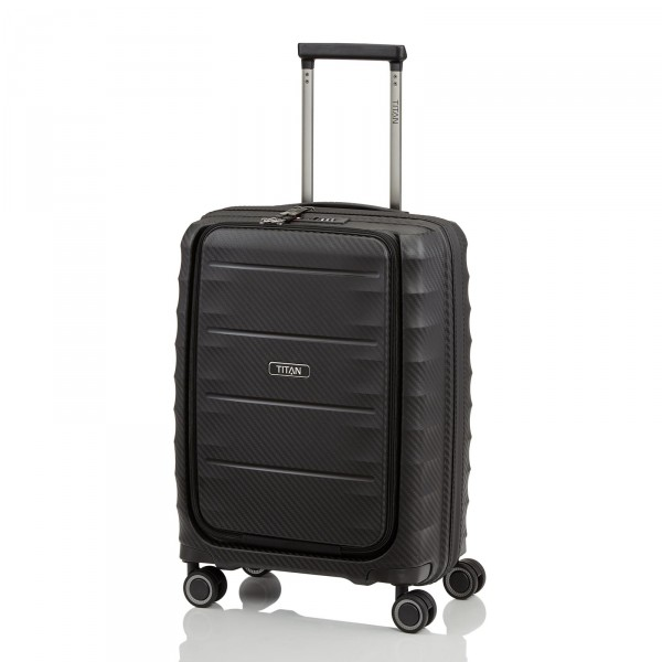 TITAN Highlight Business-Trolley 55 cm 4 Rollen Black