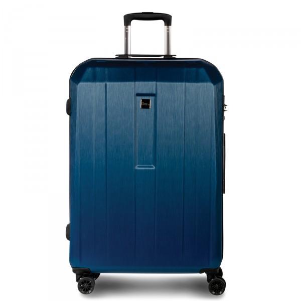 Fabrizio Gateway Trolley 76 cm 4 Rollen royalblau Frontansicht