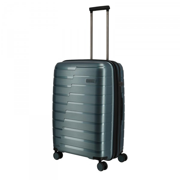 travelite Air Base Trolley 67 cm 4 Rollen erweiterbar eisblau