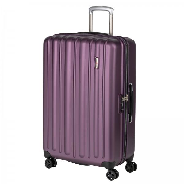 Hardware Profile Plus Trolley 77 cm 4 Rollen bright purple Schrägansicht