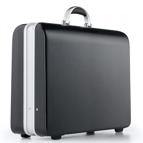 bwh Koffer Aktenkoffer SKR Unique Case Typ 2 schwarz - Vorderansicht
