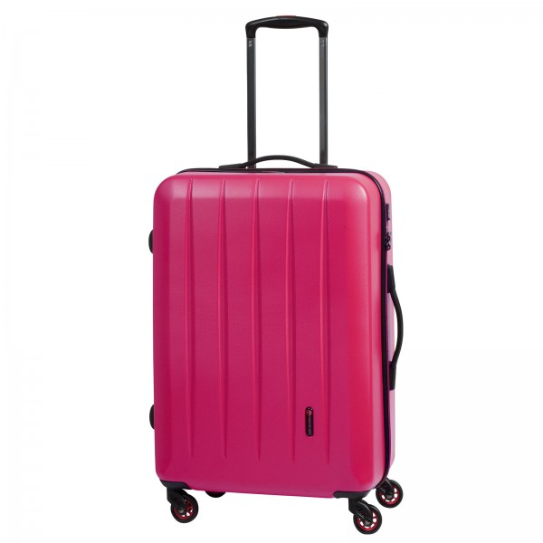 CHECK.IN Cork Trolley 65 cm 4 Rollen beere Frontansicht