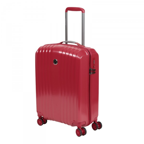 March15 Everest Kabinentrolley 55 cm 4 Rollen red Frontansicht