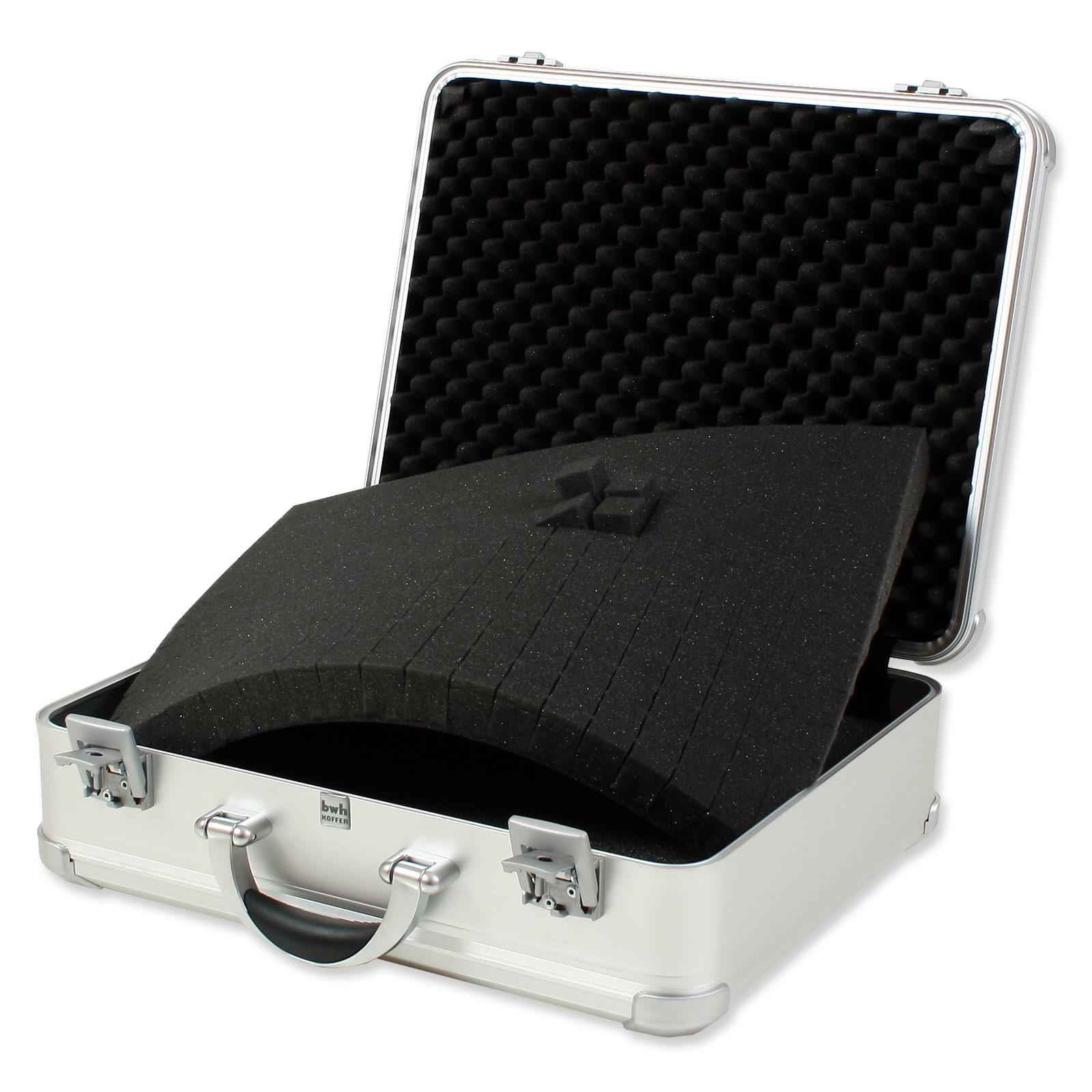 bwh koffer schaumstoffeinsatz f r vollaluminium designkoffer vdk g nstig kaufen koffermarkt. Black Bedroom Furniture Sets. Home Design Ideas