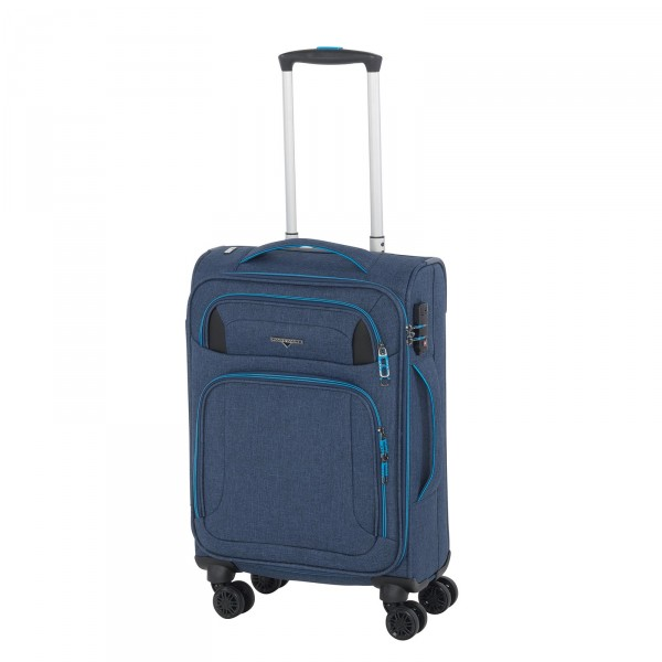 Hardware Airstream Kabinentrolley 55 cm 4 Rollen blue/light blue