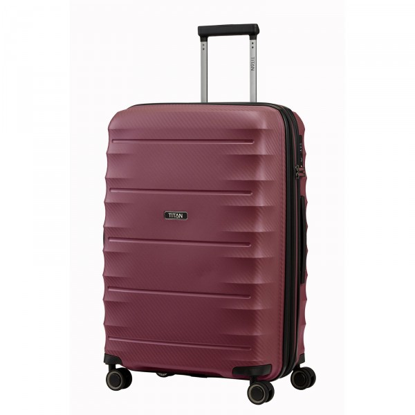 TITAN Highlight Trolley 67 cm 4 Rollen erweiterbar merlot