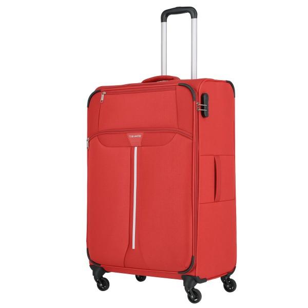 travelite Speedline Trolley 77 cm 4 Rollen rot