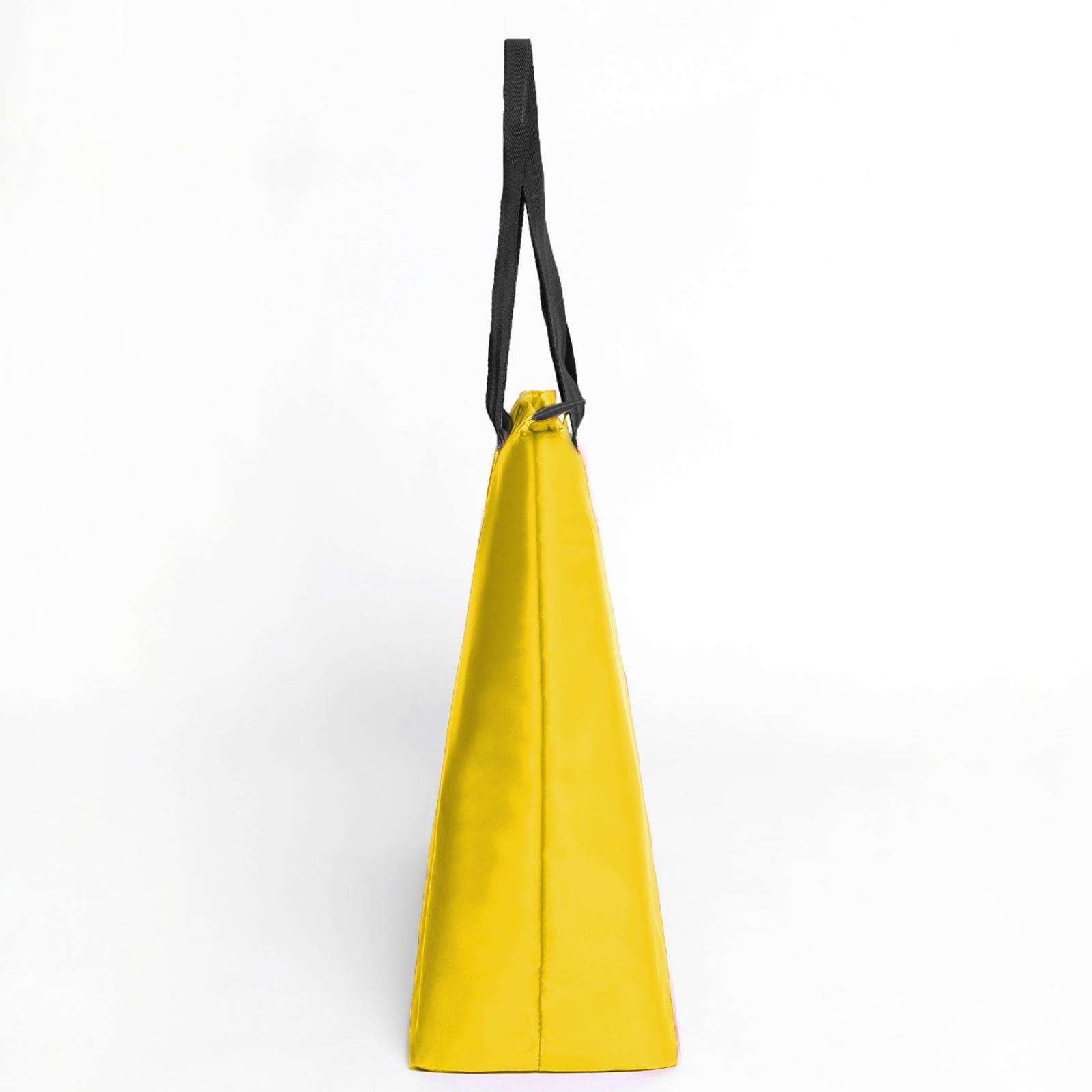 Borussia Dortmund Shopper Strandtasche gelb
