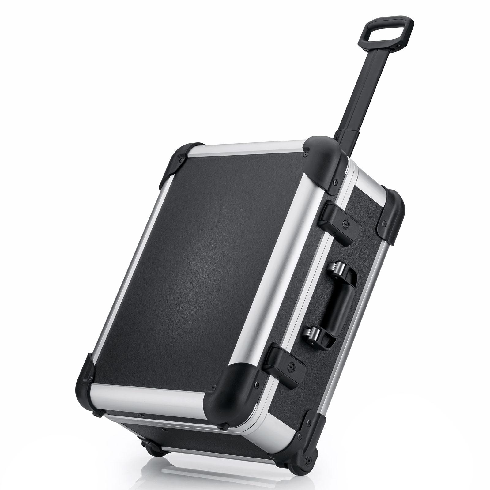 bwh Koffer  Robust Case Transportkoffer Typ 3 mit   Transportkoffer  2 Rollen