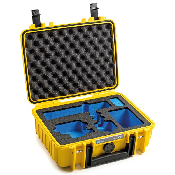 B&W GoPro Case Typ 1000 für GoPro Hero 9 mit Schaumstoffeinsatz