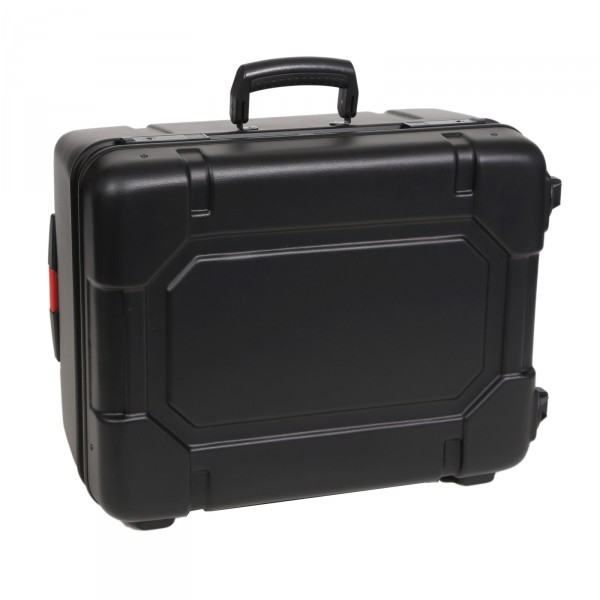 bwh Koffer Kunststoffkoffer Typ RS4 schwarz 2 Rollen schwarz