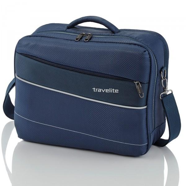 travelite Kite Modell 2017 Bordtasche 41 cm marine Schrägnsicht