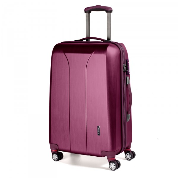March15 New Carat SE Trolley 75 cm 4 Rollen wasserabweisender RV burgundi brushed
