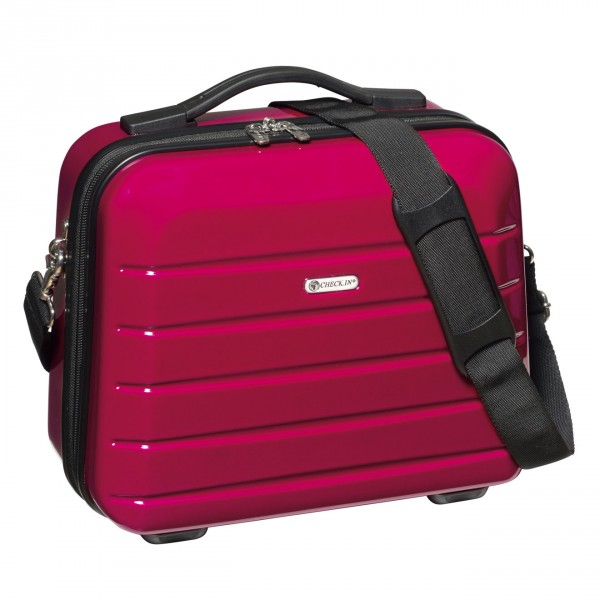 CHECK.IN London 2.0 Beautycase 33 cm berry Frontansicht