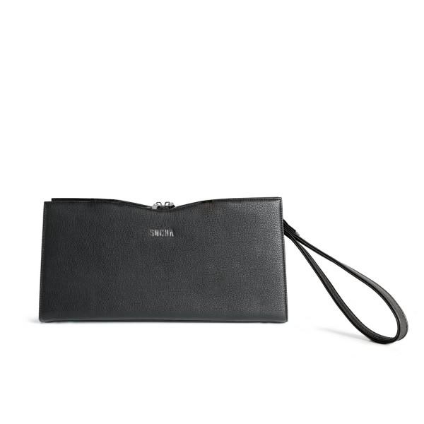 SOCHA Handtasche Clutch Bag S-Line Black black Frontansicht