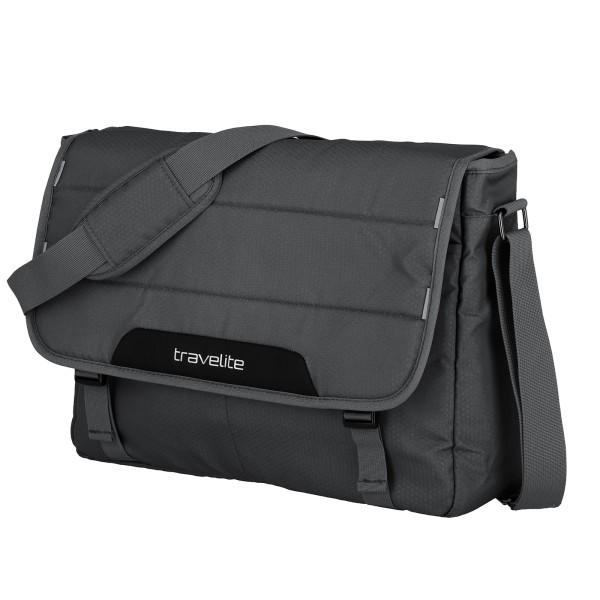 travelite Skaii Messenger Tasche 41 cm grau
