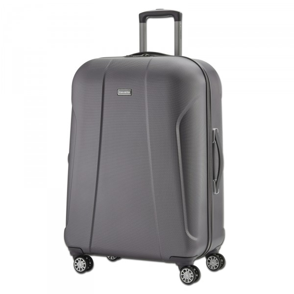 travelite Elbe Two Trolley anthrazit 75 cm 4 Rollen - Schrägansicht