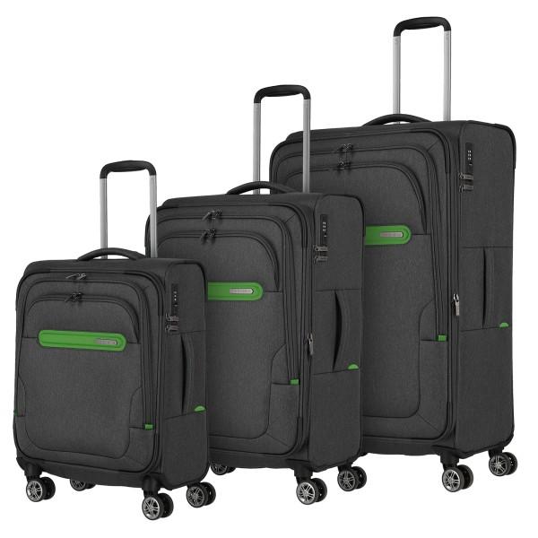 travelite Madeira Kofferset 55/67/77 cm 4 Rollen erweiterbar