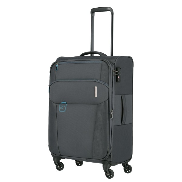 travelite Go Trolley 66 cm 4 Rollen anthrazit