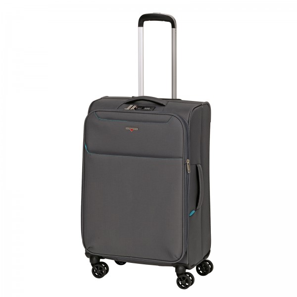 Hardware Xlight Modell 2018 Trolley 69 cm 4 Rollen erweiterbar steel grey