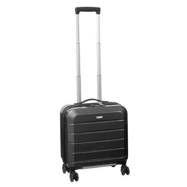 CHECK IN. London 2.0 Businesstrolley 46 cm 4 Rollen schwarz