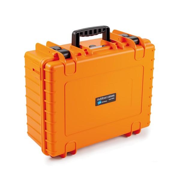 B&W Outdoor Case Typ 6000 orange
