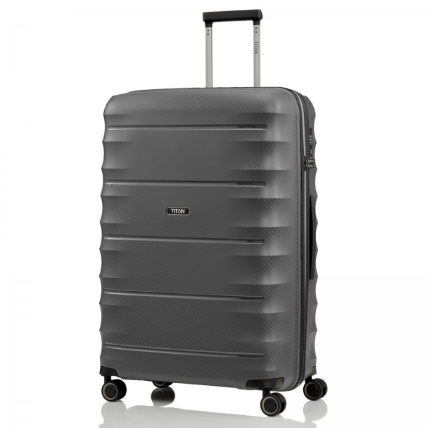 TITAN Highlight Trolley 76 cm 4 Rollen anthracite Schrägansicht