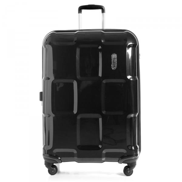 EPIC Crate 4X Trolley 76 cm 4 Rollen erweiterbar schwarz - Vorderansicht