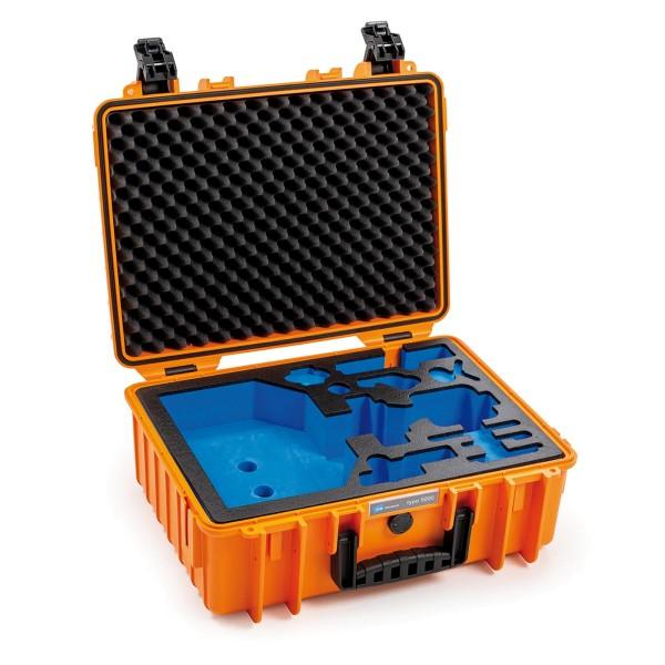 B&W Gimbel Case Typ 5000 für DJI Ronin SC orange