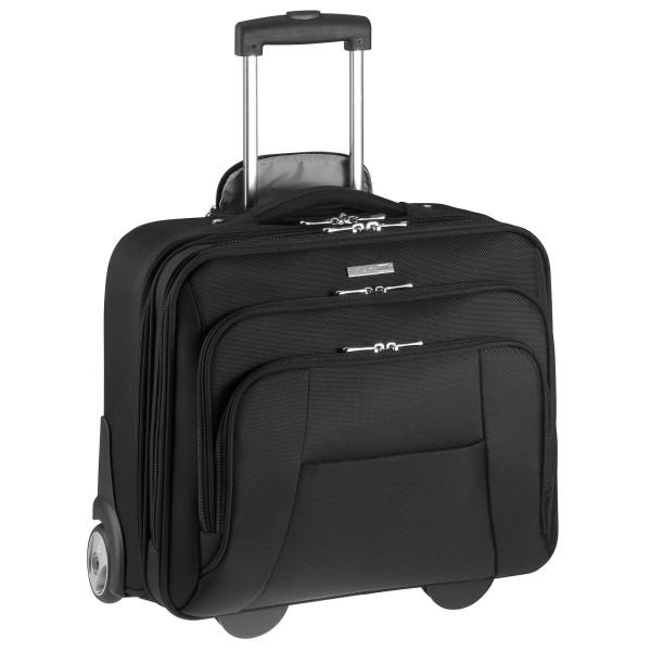 d&n Business & Travel Pilotenkoffer 43 cm 2 Rollen schwarz