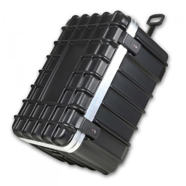 bwh Koffer T-Box Transportkoffer 76 cm 2 Rollen schwarz auf Rollen